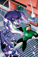 Green Lantern The Animated Series Vol 1 4 Textless