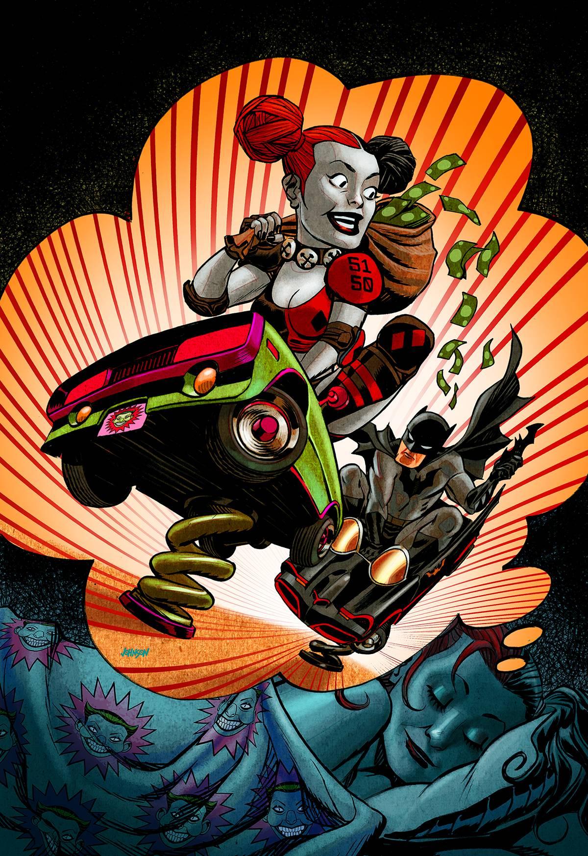 Harley Quinn Vol 2 8 Textless Batman 75th Anniversary Variant.jpg