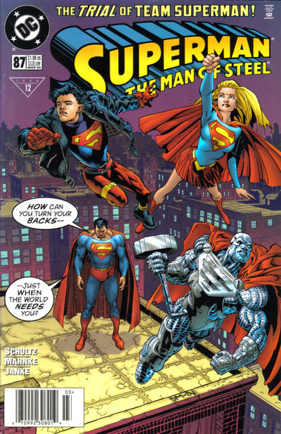 Superman: The Man of Steel Vol 1 87