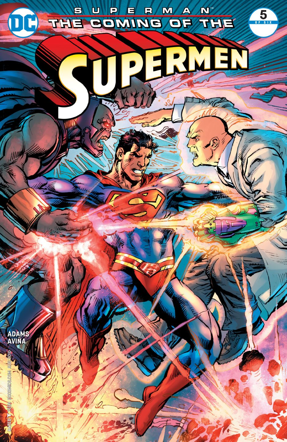 Superman: The Coming of the Supermen Vol 1 5