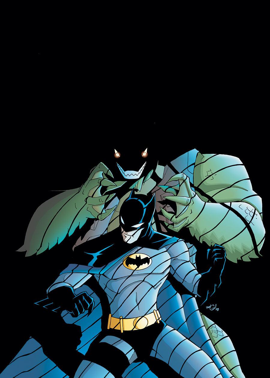 The Batman Strikes! Vol 1 46 Textless.jpg