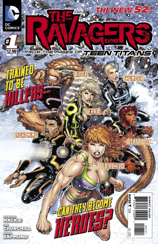 Ravagers Vol 1