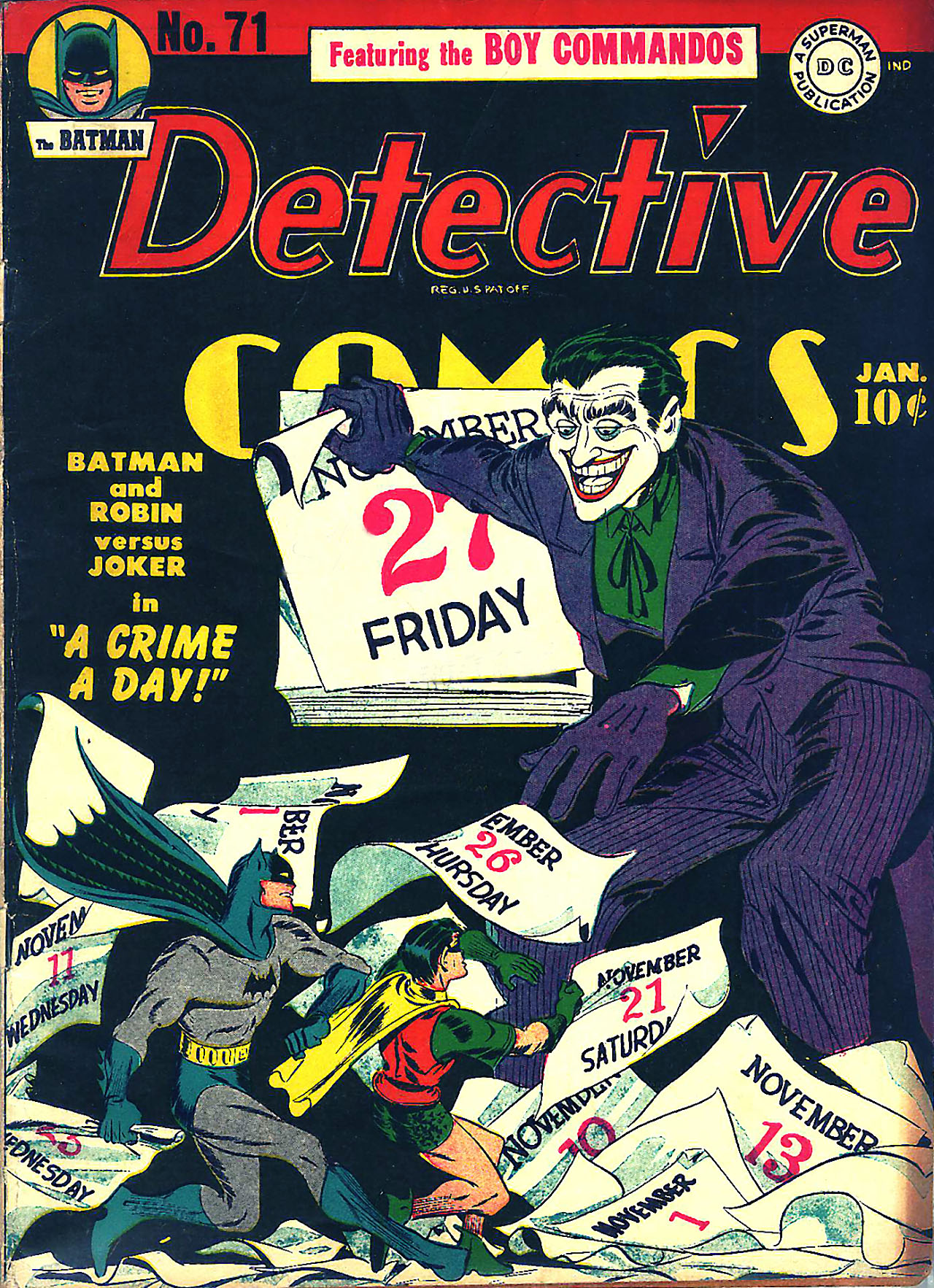 Detective Comics Vol 1 71