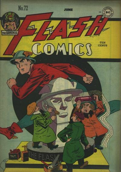 Flash Comics Vol 1 72