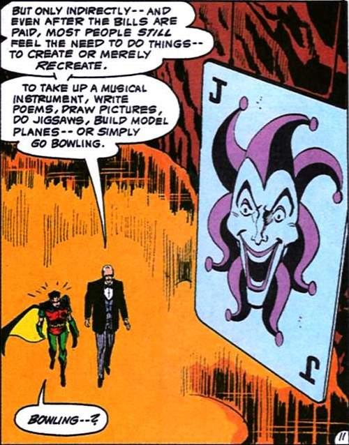 Giant Joker Card