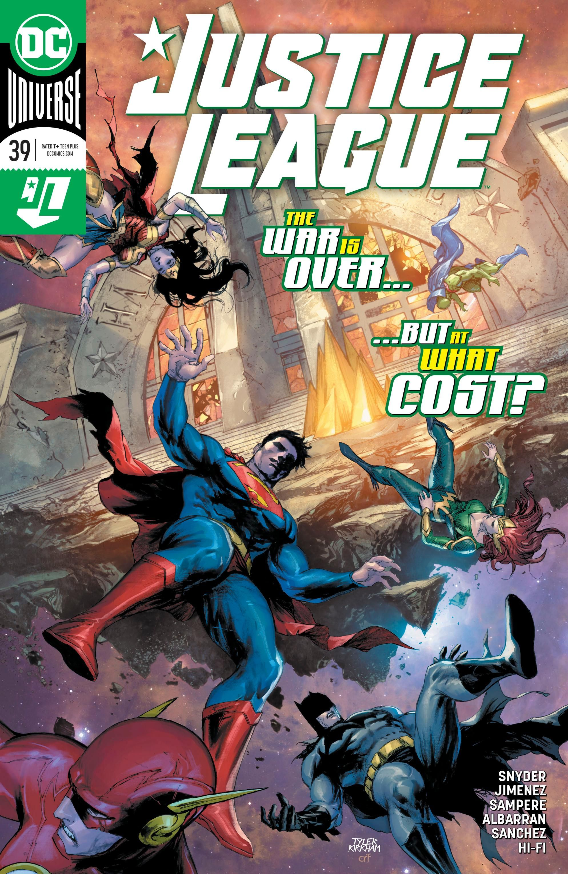 Justice League Vol 4 39