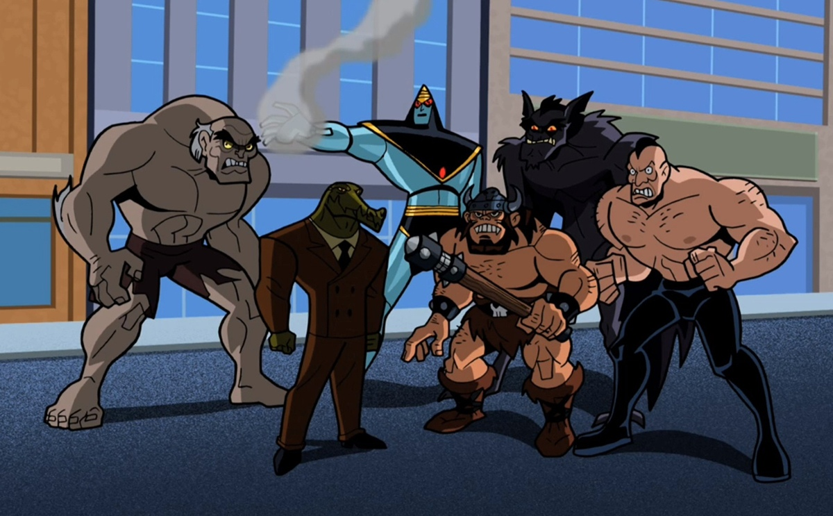 Monster Society of Evil (The Brave and the Bold)