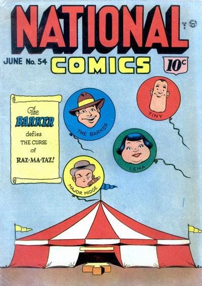 National Comics Vol 1 54
