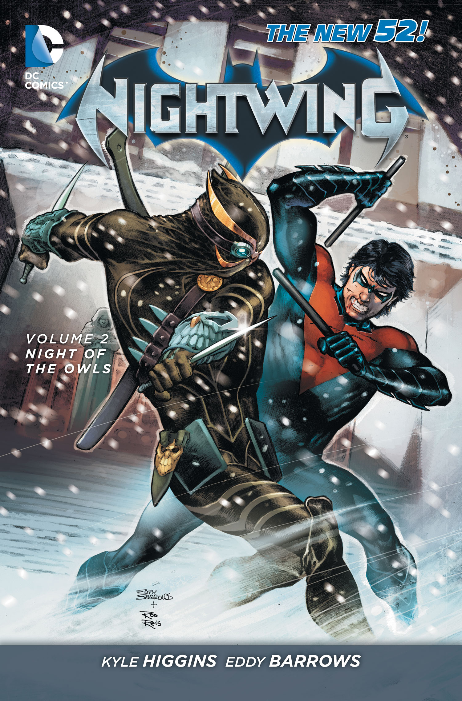 Nightwing: Night of the Owls (Collected)