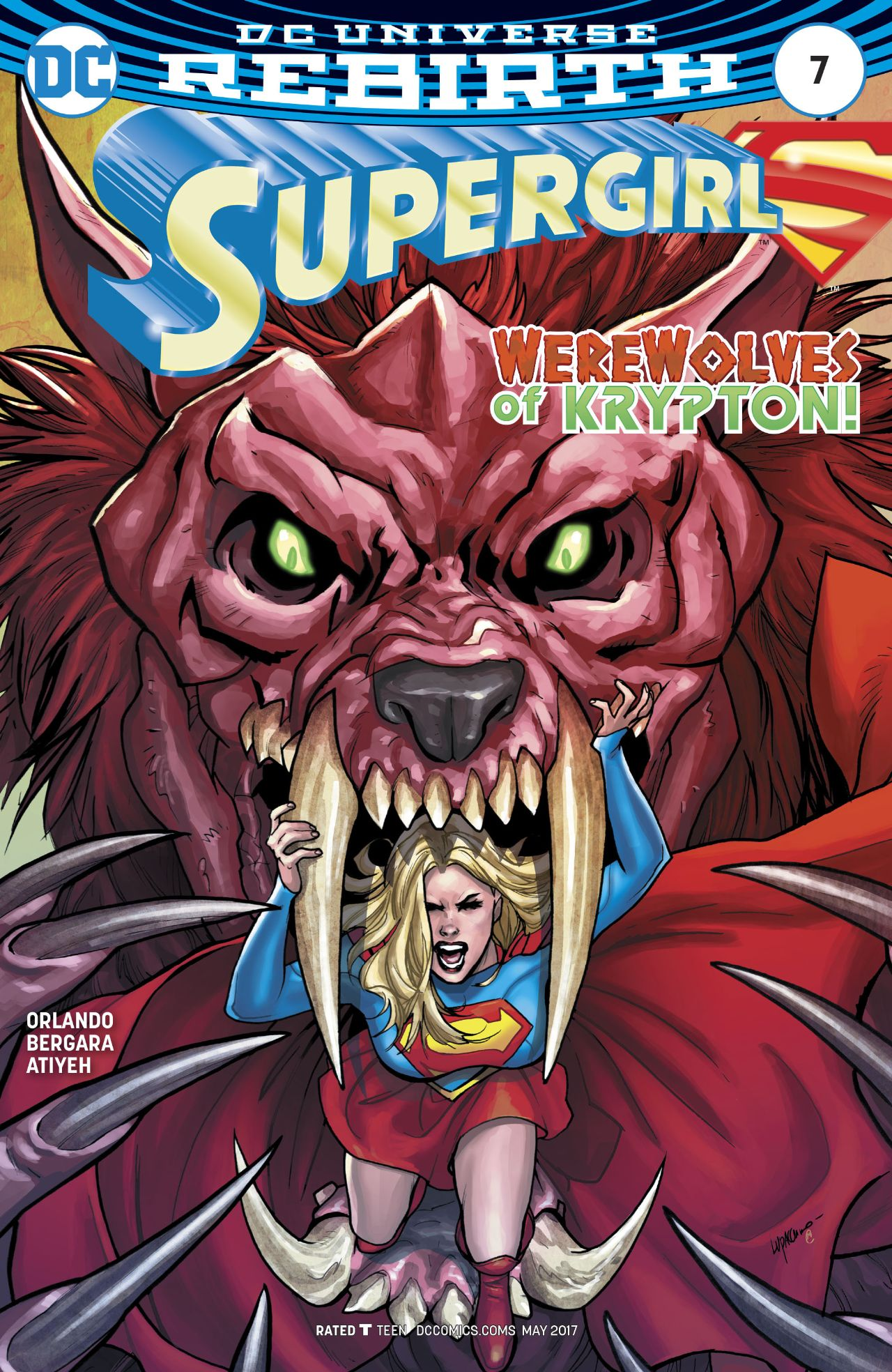 Supergirl Vol 7 7