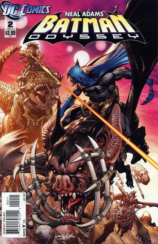 Batman: Odyssey Vol 2 2