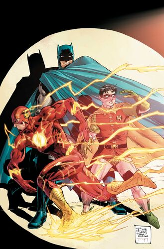 Textless The Flash 75th Anniversary Variant