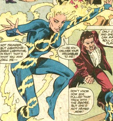 Chain Lightning (Earth-S)