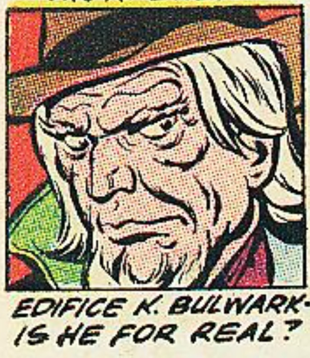 Edifice K. Bulwark (Earth-One)