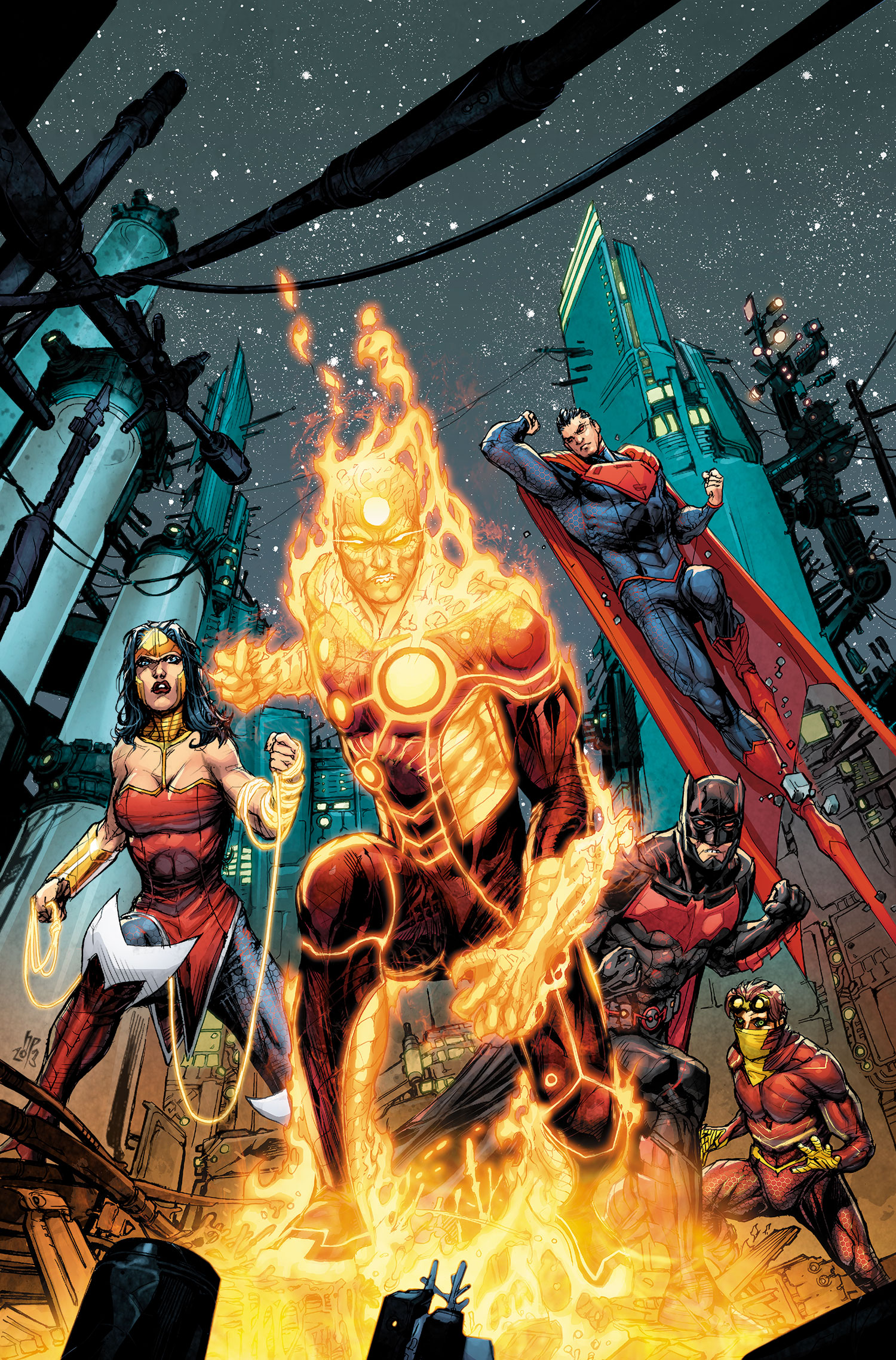Firestorm (Justice League 3000)