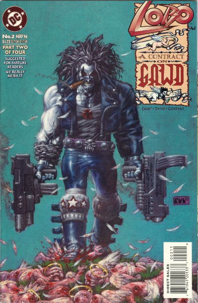 Lobo: A Contract on Gawd Vol 1 2