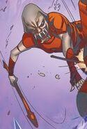 Red Arrow Falling Through the Cracks 0001