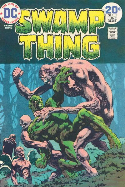 Swamp Thing Vol 1 10