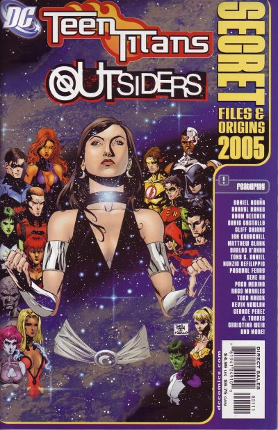 Teen Titans/Outsiders Secret Files and Origins 2005