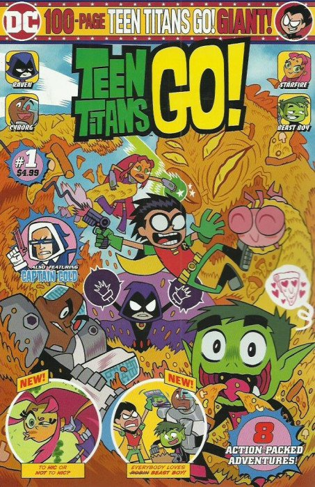 Teen Titans Go! Giant Vol 1 1
