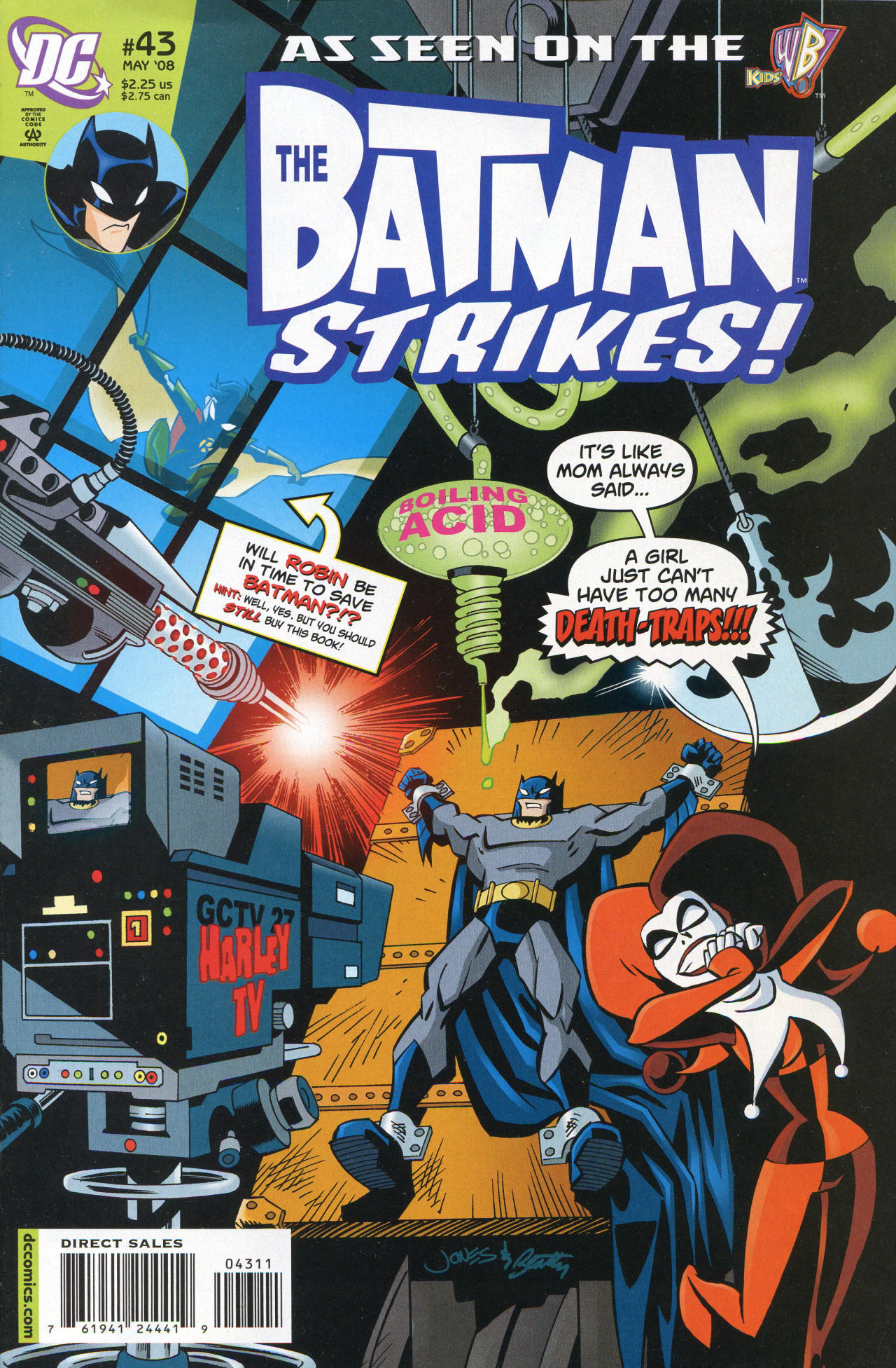 The Batman Strikes! Vol 1 43