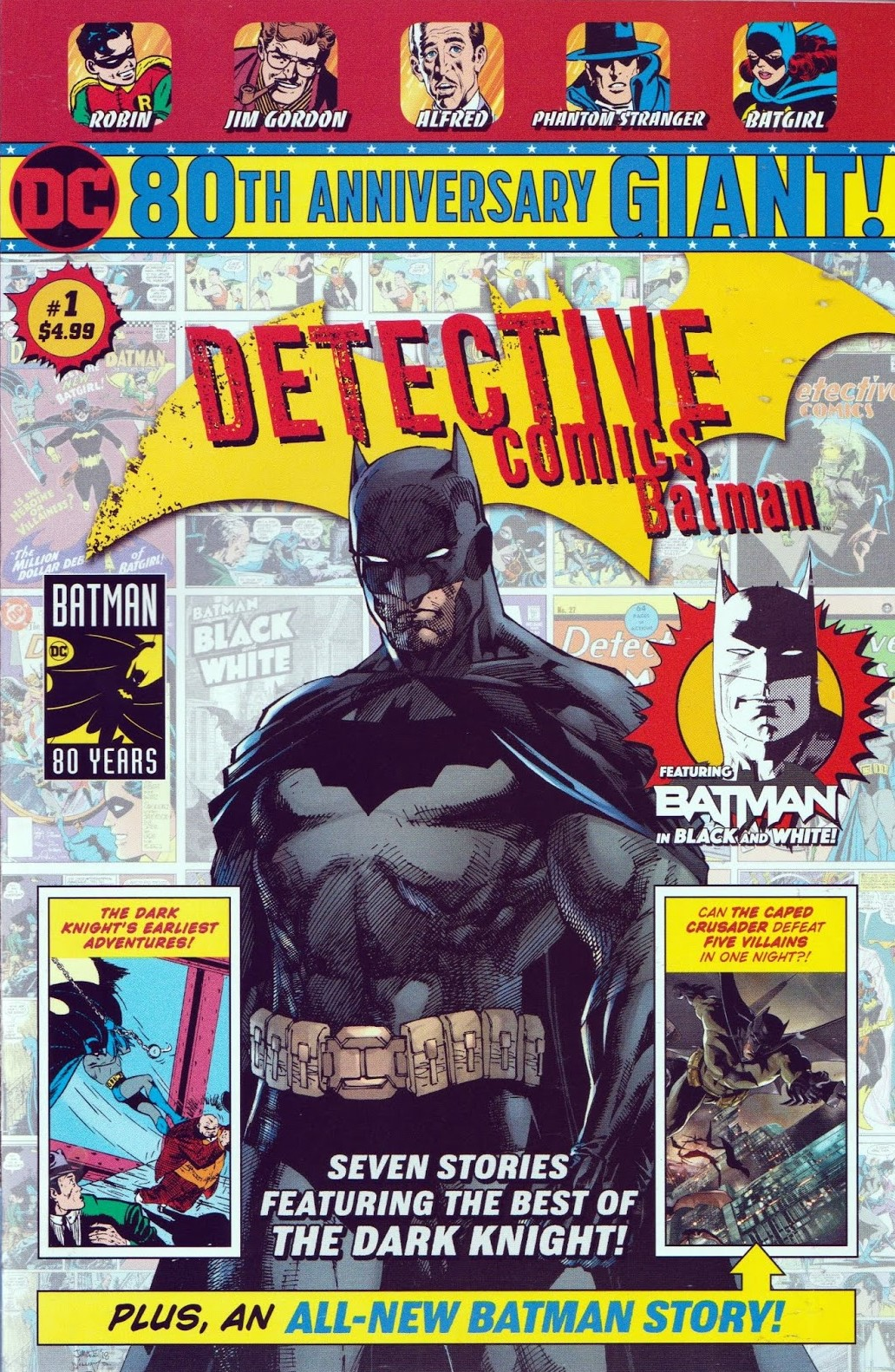 Detective Comics: Batman 80th Anniversary Giant Vol 1 1