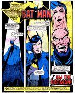 Strange claims the Identity of Batman
