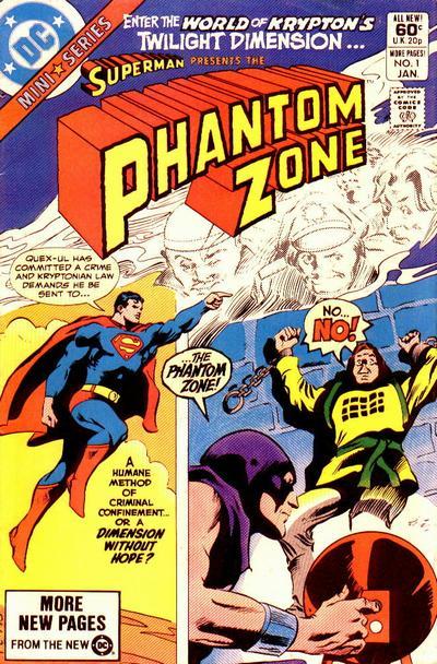The Phantom Zone Vol 1 1