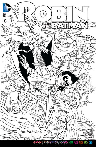 Adult Coloring Variant