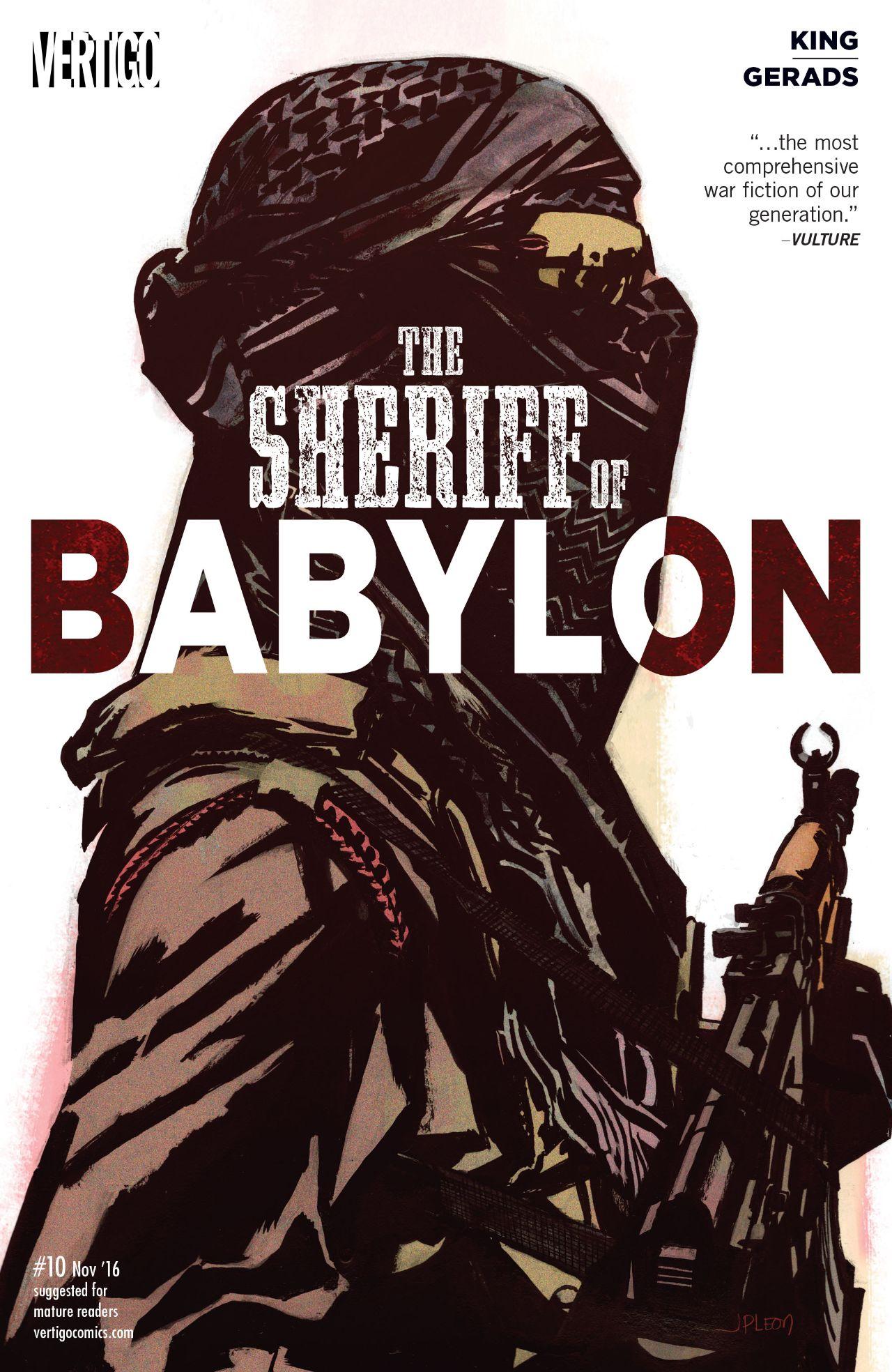 The Sheriff of Babylon Vol 1 10