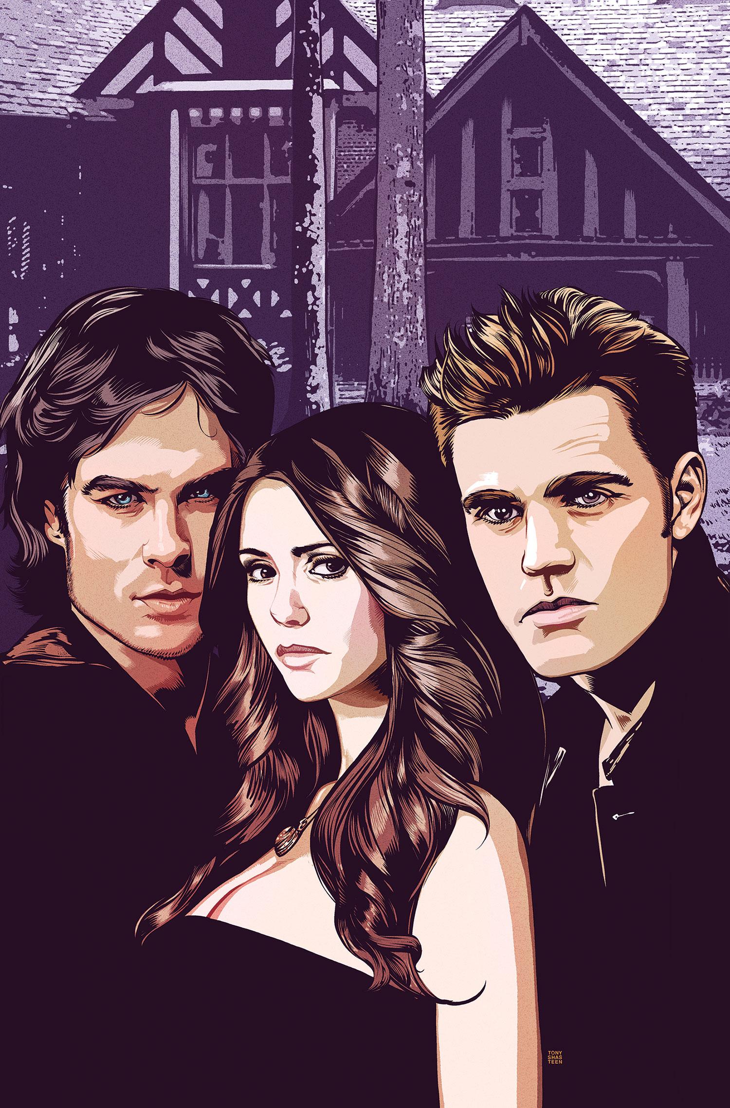 Vampire Diaries Vol 1
