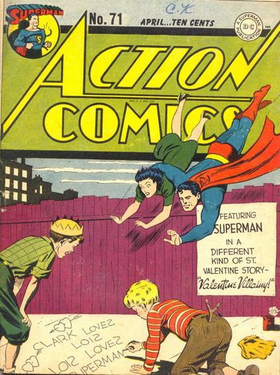 Action Comics Vol 1 71