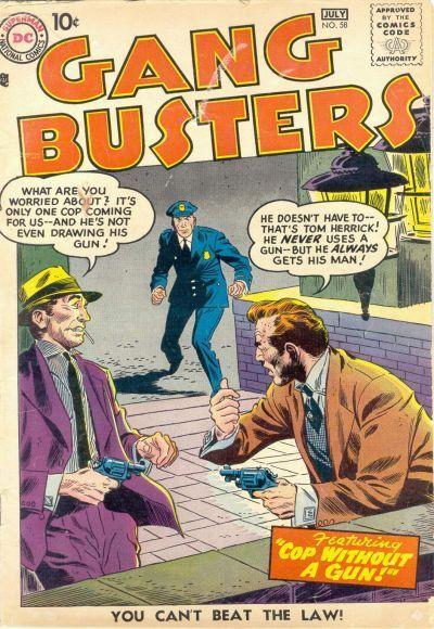 Gang Busters Vol 1 58