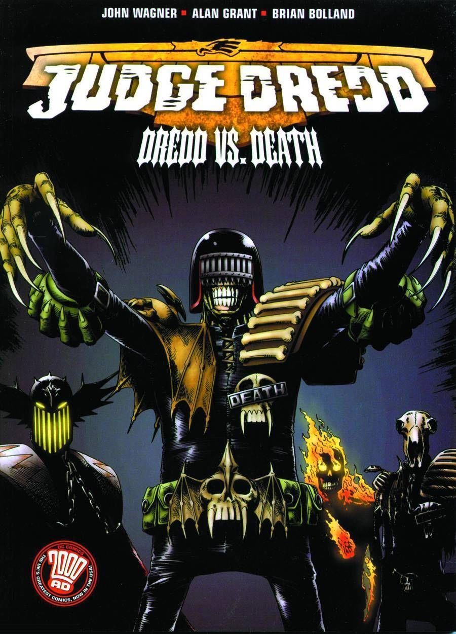 Judge Dredd: Dredd vs. Death (Collected)