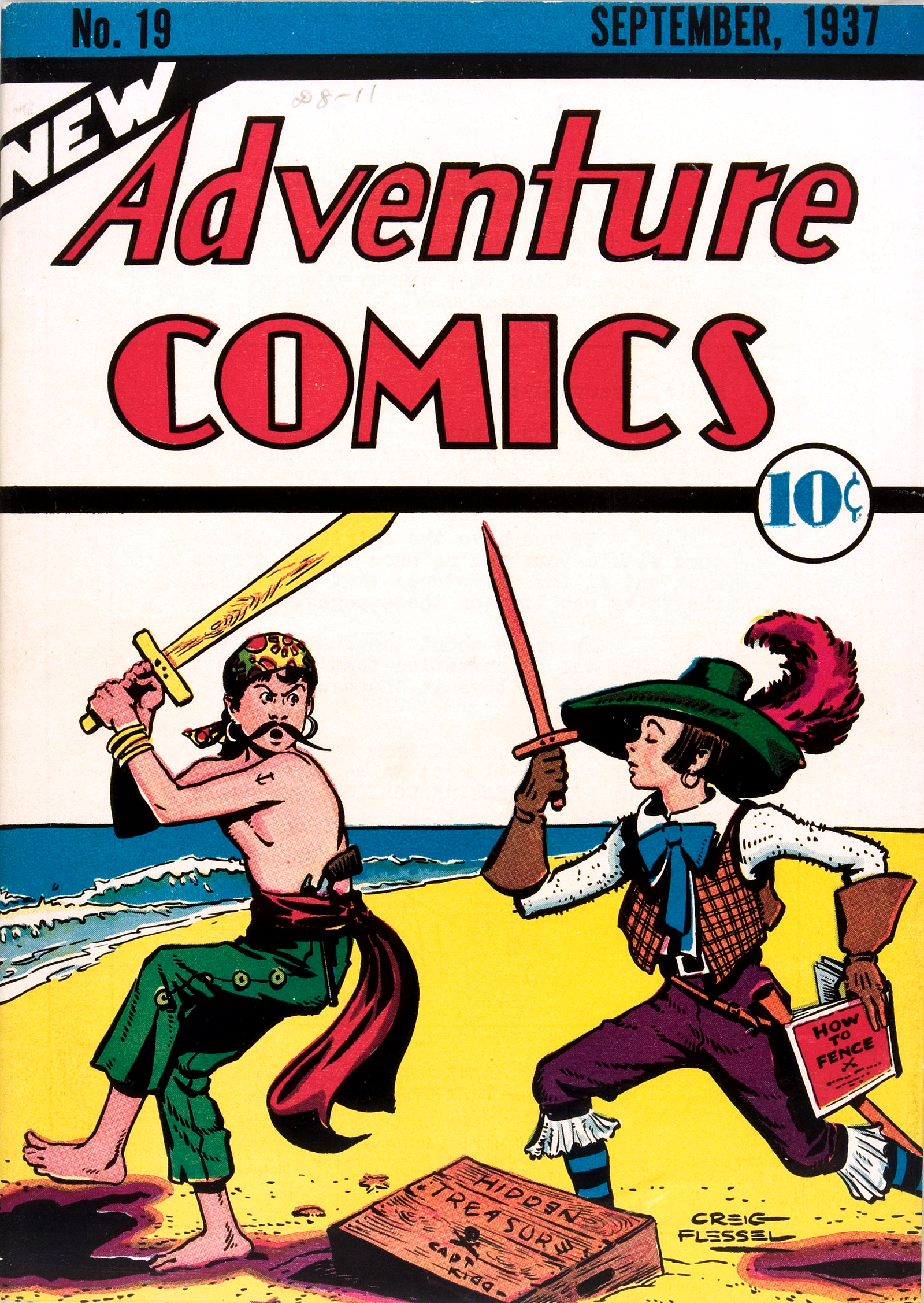 New Adventure Comics Vol 1 19