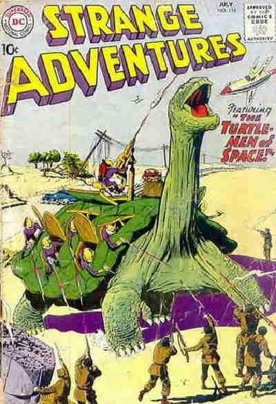 Strange Adventures Vol 1 118