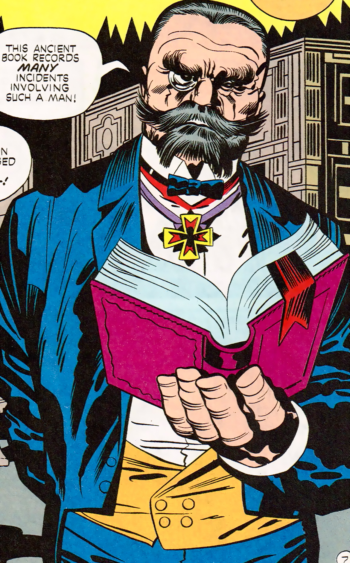 Baron von Rakenstein (Earth-One)