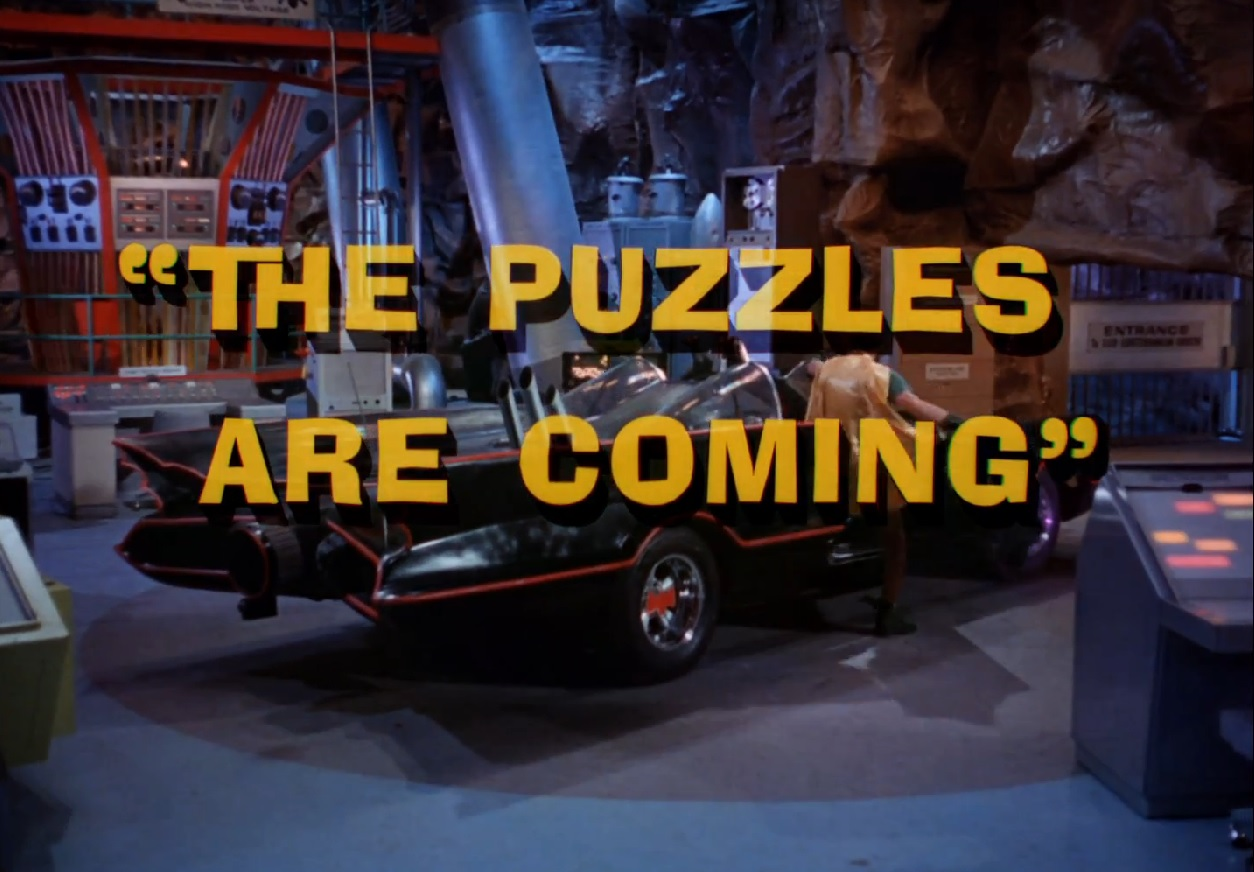 Batman (1966 TV Series) Episode: The Puzzles Are Coming