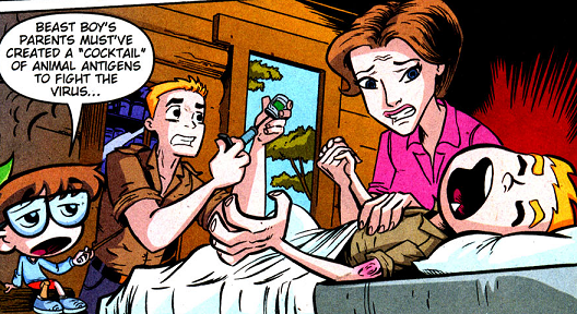 Mark Logan (Teen Titans TV Series)