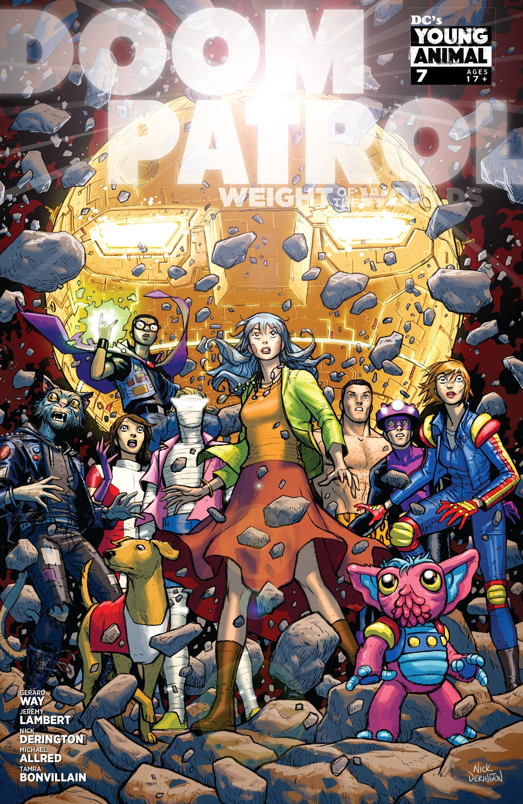 Doom Patrol: Weight of the Worlds Vol 1 7