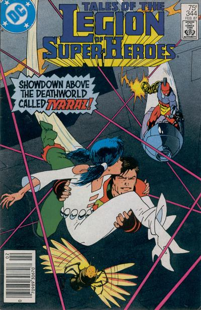 Legion of Super-Heroes Vol 2 344