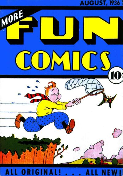 More Fun Comics Vol 1 12