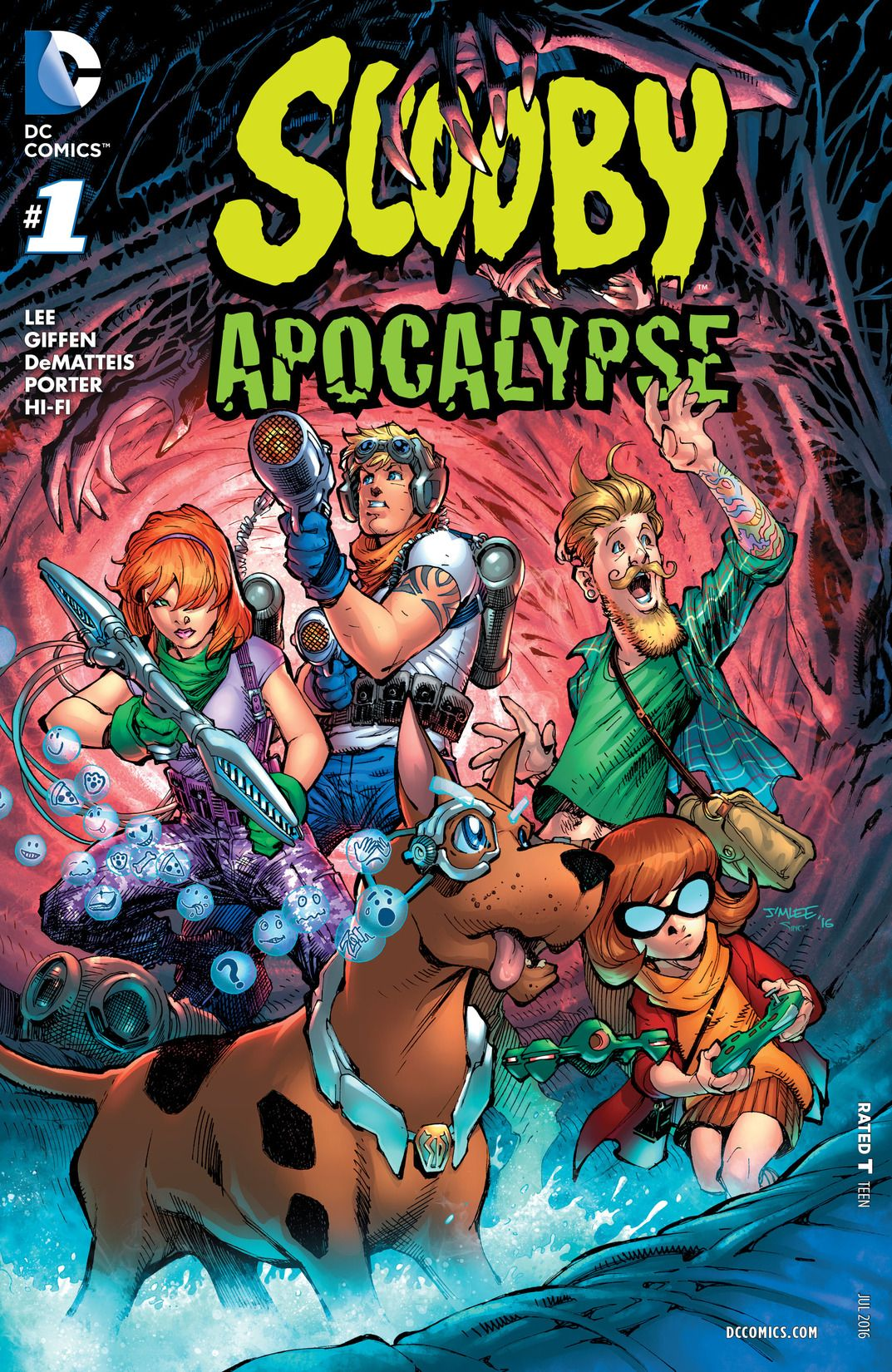 Scooby Apocalypse Vol 1 1