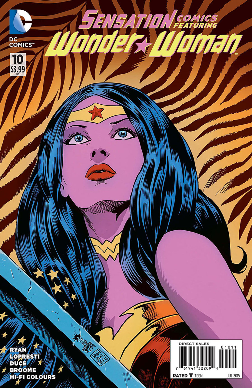 Sensation Comics Featuring Wonder Woman Vol 1 10