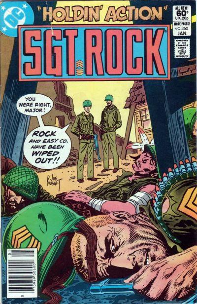 Sgt. Rock Vol 1 360