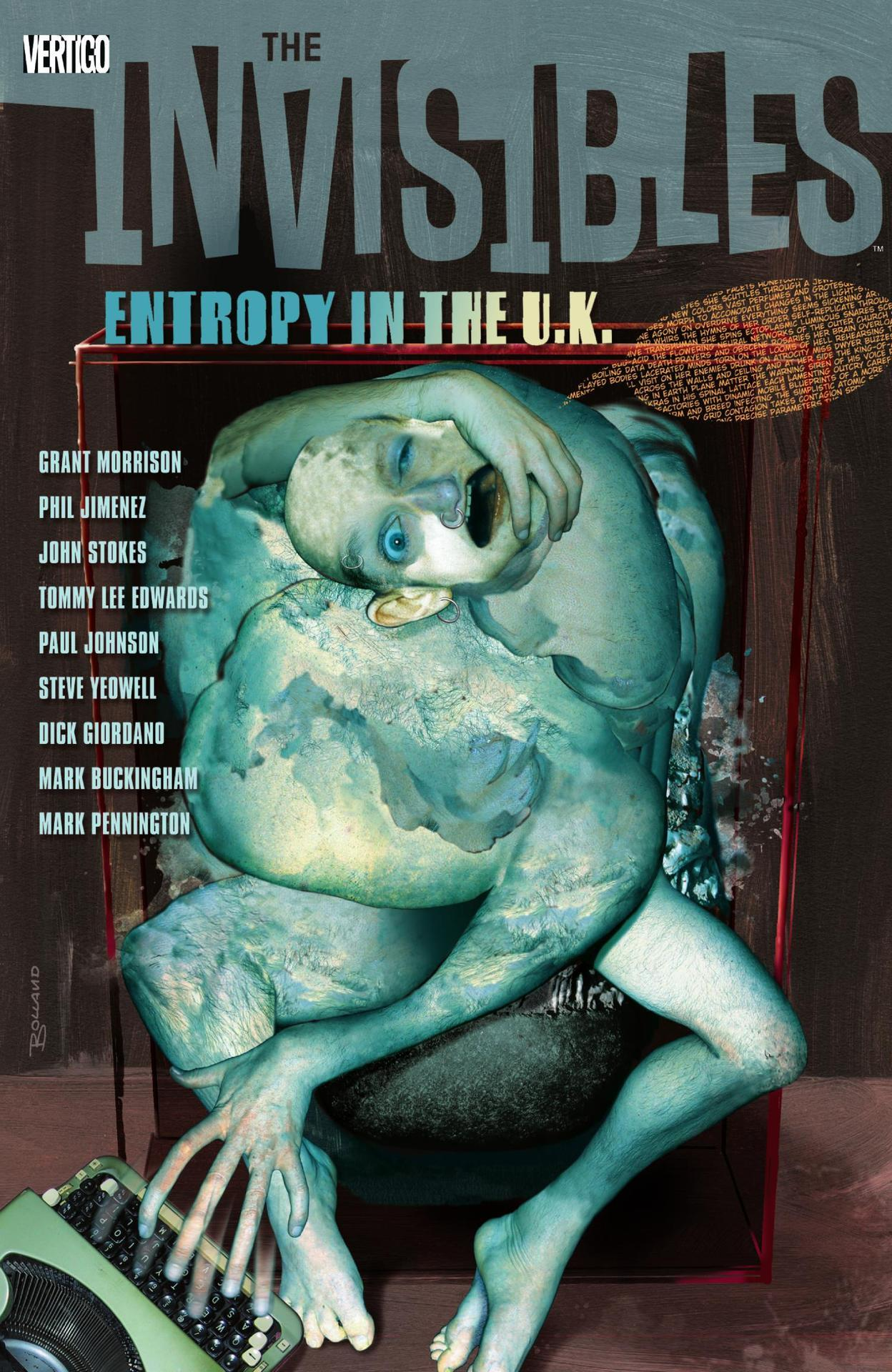 The Invisibles Volume 03: Entropy in the U. K. (Collected)
