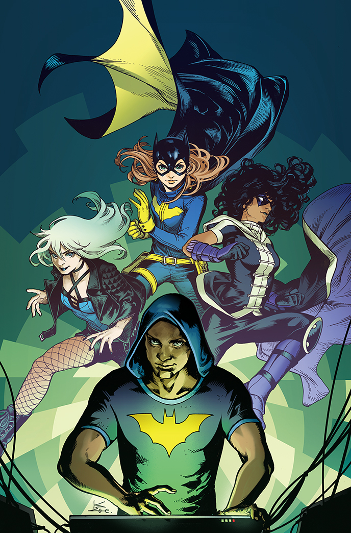 Batgirl and the Birds of Prey Vol 1 11 Textless Variant.jpg