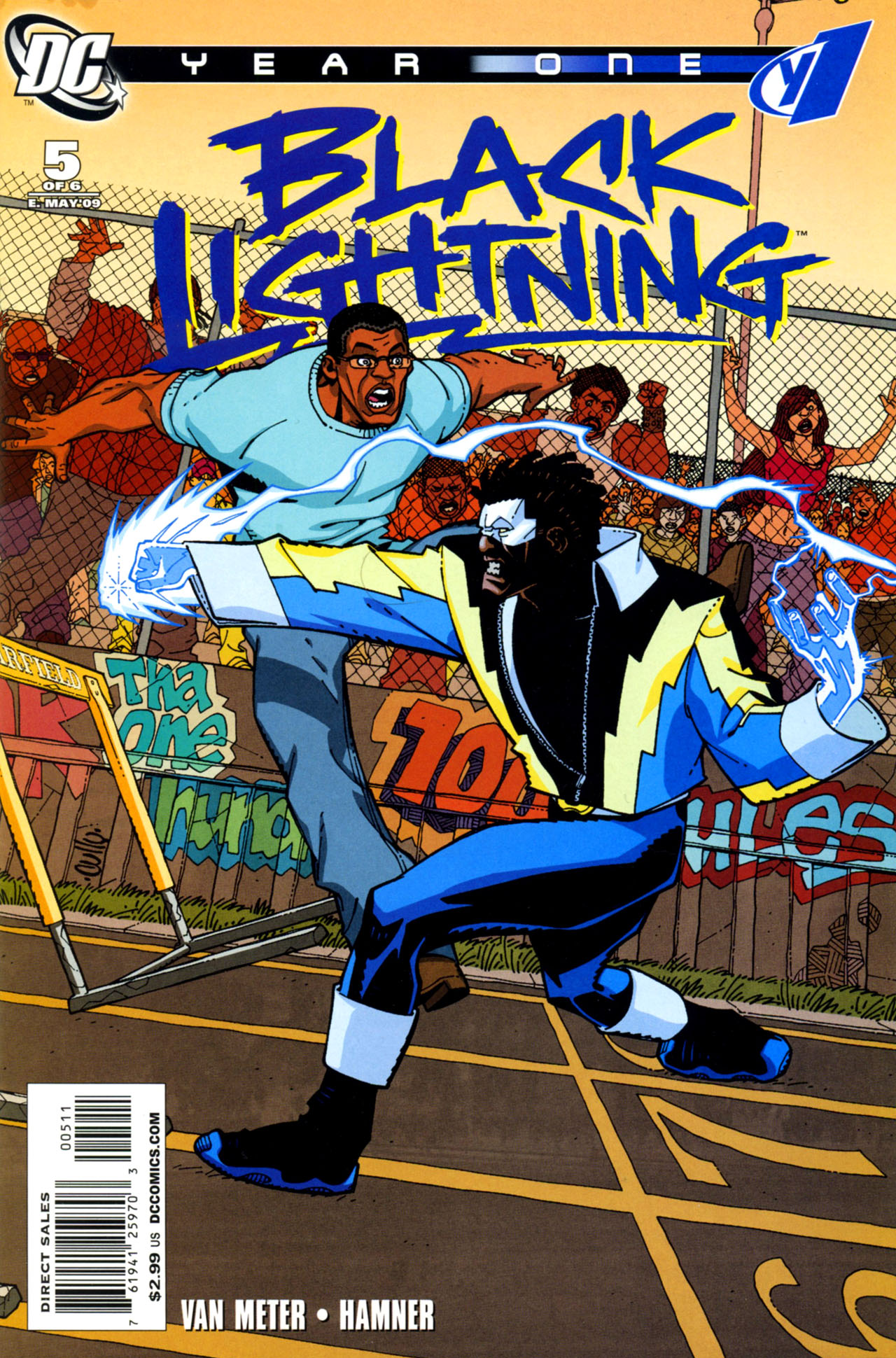 Black Lightning: Year One Vol 1 5