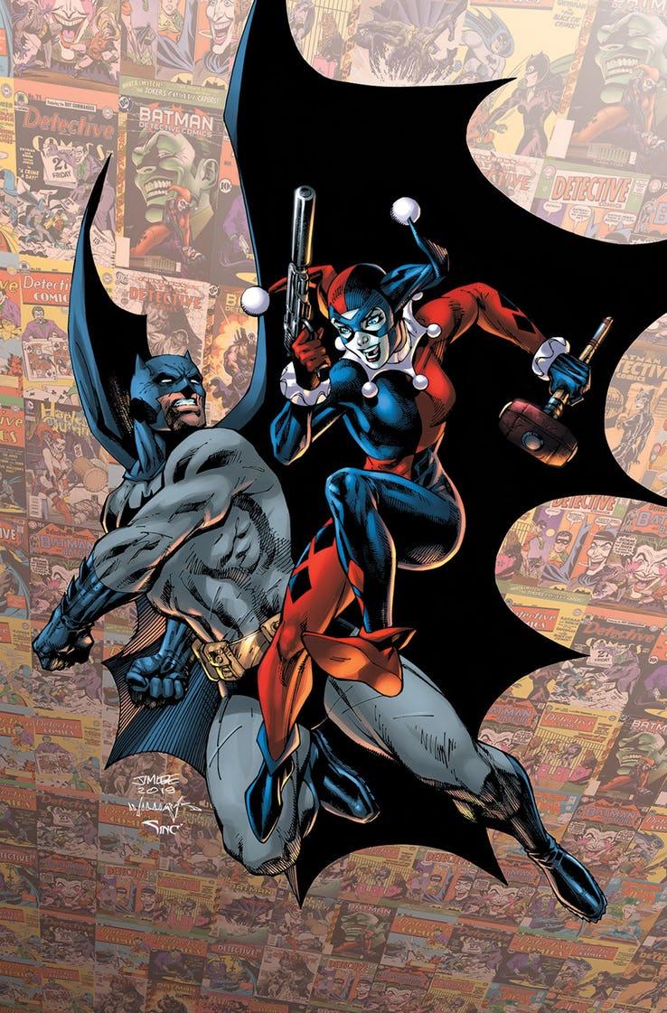 Detective Comics Vol 1 1000 Textless Lee Harley Variant.jpg