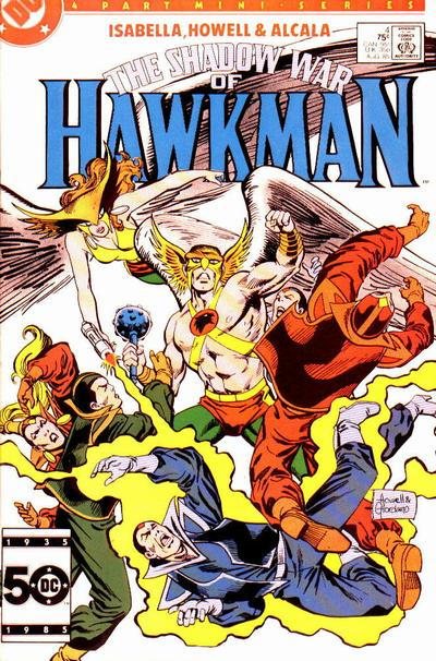 The Shadow War of Hawkman Vol 1 4